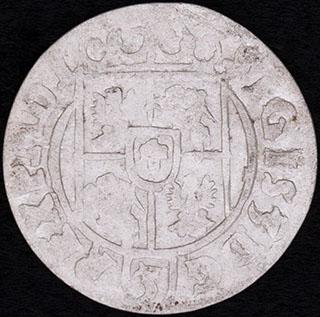 Польша. Полторак 1623 г. Серебро