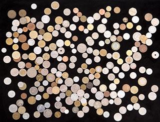 Лот из иностранных монет XIX-XXI вв. 1 кг.