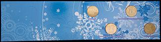 Лот из монет 2014 г. «Сочи 2014». 4 шт. В оригинальной упаковке