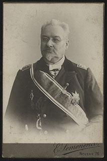 Фотография кавалера орденов Св. Станислава I ст., Святого Владимира II ст. и Св. Анны