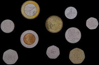 Ботсвана. Лот из монет 1976-2013 гг. 10 шт.