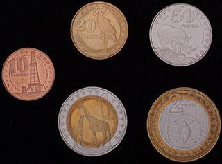 Южный Судан. Лот из монет 2015 г. 5 шт.